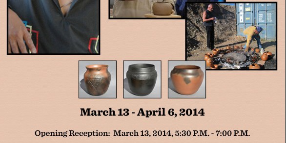 MICACEOUS POTTERY EXHIBIT