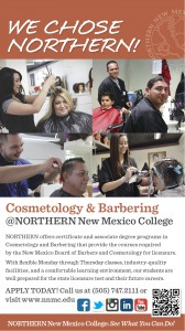 NNMC Cosmetology/Barbering Ad