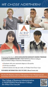 NNMC Accelerated AA in Businss ad