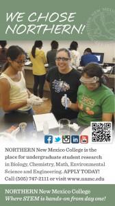 NNMC STEM Undergraduate Research Ad