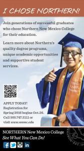 NNMC I Chose Northern graduate ad
