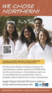 NNMC Biology Research Lab Ad