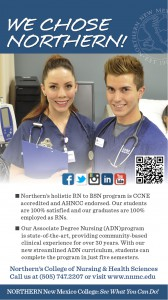 NNMC College of Nursing Ad