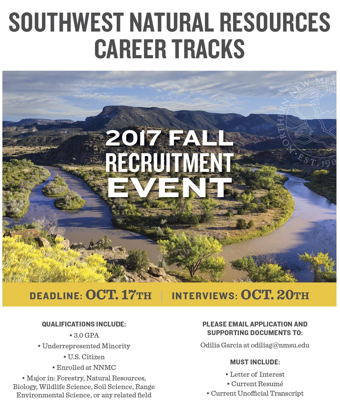 SW Natural Resources Career Flyer Oct 2017_v2