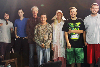 Film & Digital Media Arts students learn while helping community