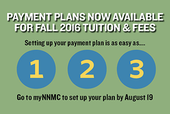 Payment Plans for Fall 2016 Now Available