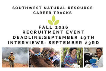 Apply Now for the Southwest Natural Resources Career Tracks program here at Northern!