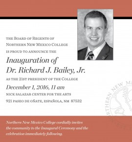 Inauguration of Dr. Richard J. Bailey, Jr. as 21st President of NNMC