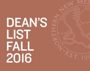 Celebrating Dean's List Recipients for Fall 2016
