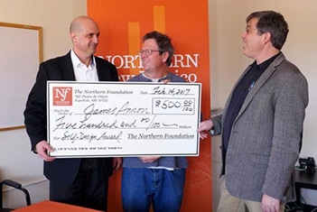 Northern Foundation Gives $500 to Self-design Major