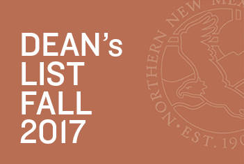 Dean's List for Fall 2017