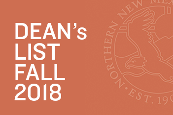 Celebrating Fall 2018 Dean's List Recipients