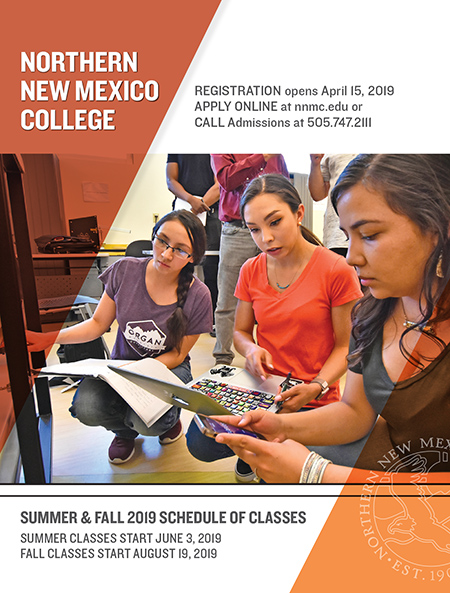 Unm Academic Calendar Fall 2020.Schedule Of Classes Northern New Mexico College
