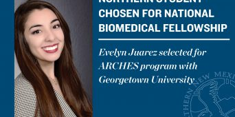 Northern Student Selected for National Biomedical Fellowship