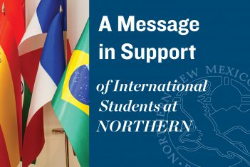 Northern Issues Statement of Support for International Students