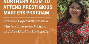 NNMC Alum to Attend Johns Hopkins Science Writing Program