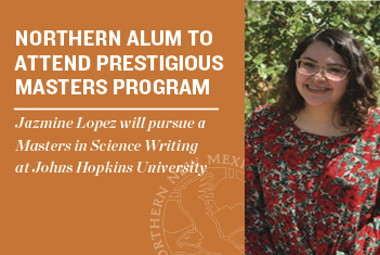 NNMC Alum to Attend Johns Hopkins Science Writing Program