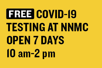 FREE Daily COVID-19 Testing at NNMC