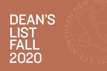 Dean's List Fall 2020